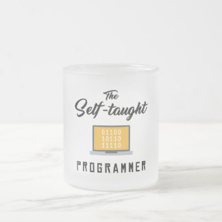 The Self-taught Programmer Frosted Mug