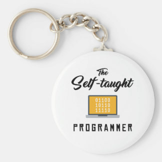 The Self-taught Programmer Key Chain