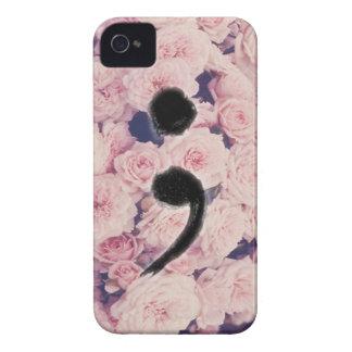 The Semicolon Project iPhone 4 Cover