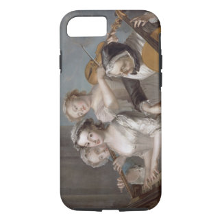 The Sense of Hearing, c.1744-7 (oil on canvas) iPhone 7 Case