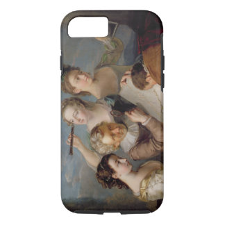 The Sense of Sight, c.1744-47 (oil on canvas) iPhone 7 Case