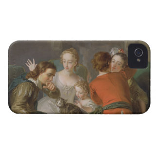 The Sense of Touch c 1744-47 oil on canvas see iPhone 4 Case-Mate Case