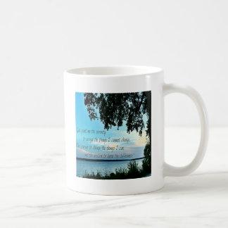 The Serenity Prayer Classic White Coffee Mug