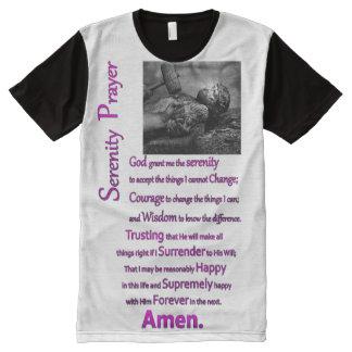 The Serenity Prayer Hammer Purple Print All-Over-Print T-Shirt