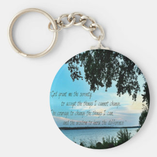 The Serenity Prayer Keychain