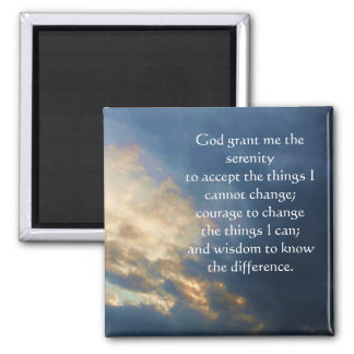 The Serenity Prayer Magnet