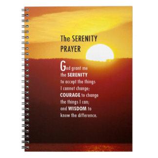 The Serenity Prayer Notebook