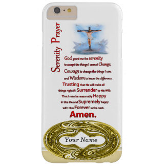 The Serenity Prayer R.C Barely There iPhone 6 Plus Case