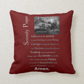 The Serenity Prayer Throw Pillow