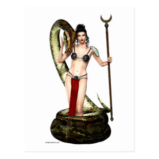 The Serpent Queen Postcard