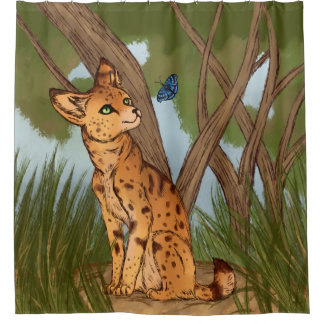 The Serval and the Butterfly