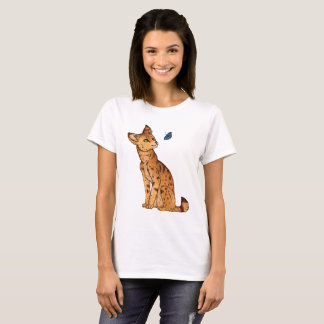 The Serval and the Butterfly T-Shirt