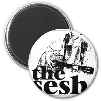 """the sesh"" 2-1/4"" Circular Magnet"