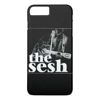 """the sesh"" Black iPhone 7 Plus Case"