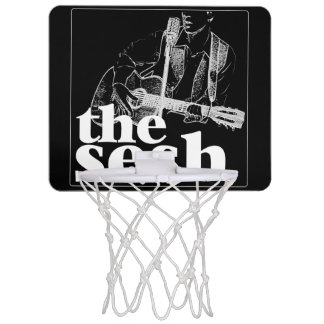 """the sesh"" Mini Basketball Hoop (Black)"