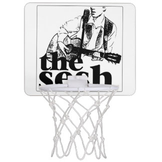 """the sesh"" Mini Basketball Hoop (White)"