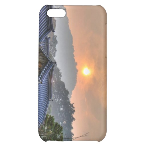 The Setting Sun in Asia Case For iPhone 5C