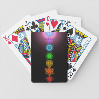 The Seven Chakras Bicycle Playing Cards