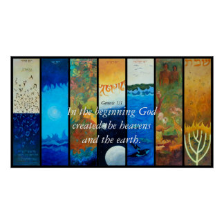 THE SEVEN DAYS OF CREATION, In the beginning Go... Poster