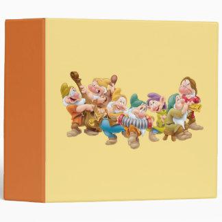 The Seven Dwarfs 3 Vinyl Binder