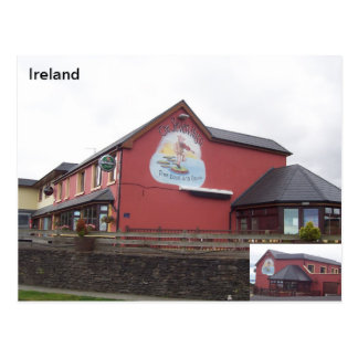 The Seven Hogs Bar, Castlegregoey, Kerry, Ireland Postcard