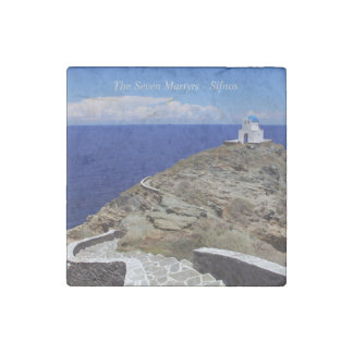 The Seven Martyrs – Sifnos Stone Magnets