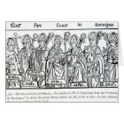 The Seven Saints of Brittany Card
