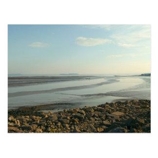 The Severn Estuary Near Cardiff Bay Postcard