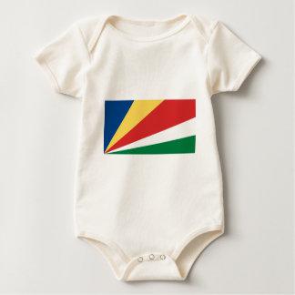 The Seychelles Flag Baby Bodysuit