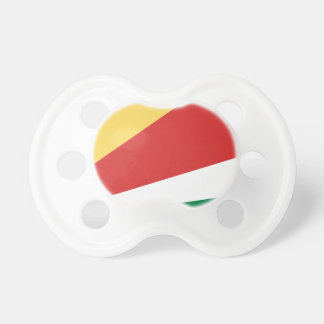 The Seychelles Flag Baby Pacifier
