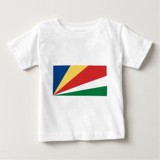 The Seychelles Flag Baby T-Shirt