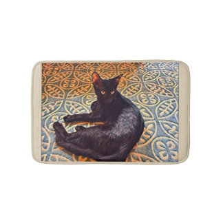 The Shadow bath mat or cute pet bed mat