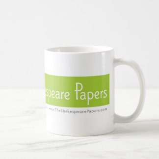 The Shakespeare Papers coffee mug