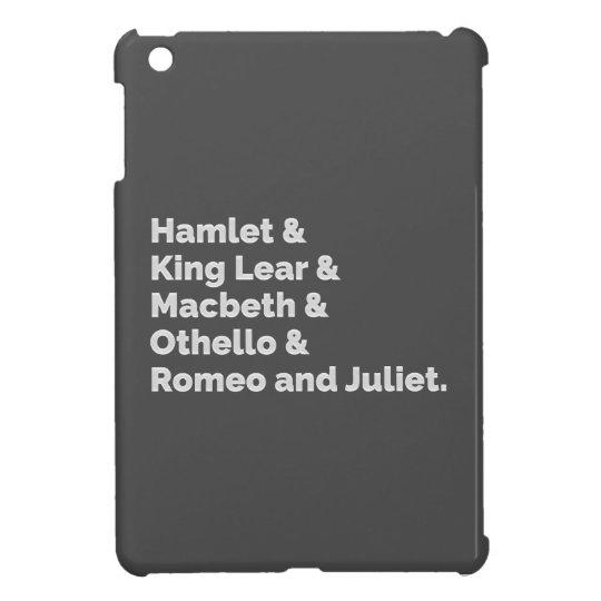 The Shakespeare Plays I iPad Mini Case