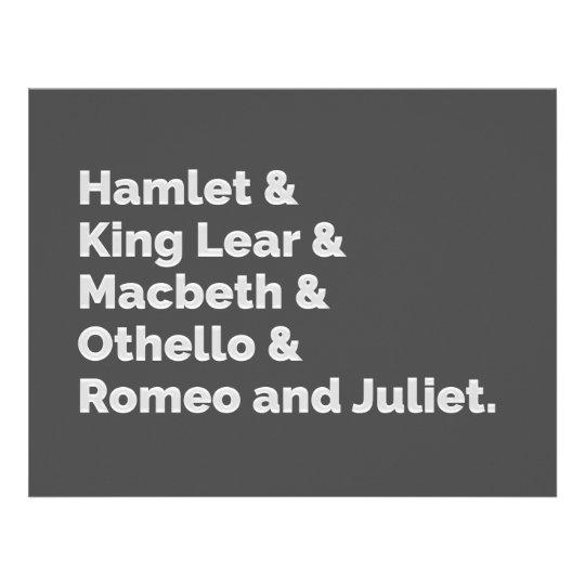 The Shakespeare Plays I Letterhead