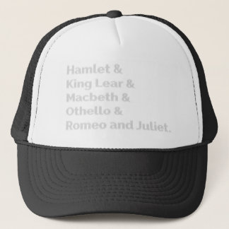The Shakespeare Plays I Trucker Hat