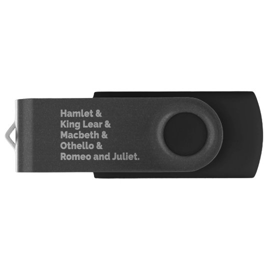 The Shakespeare Plays I USB Flash Drive