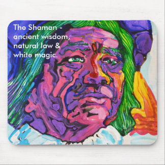 The Shaman -  mouse mat Mouse Pad