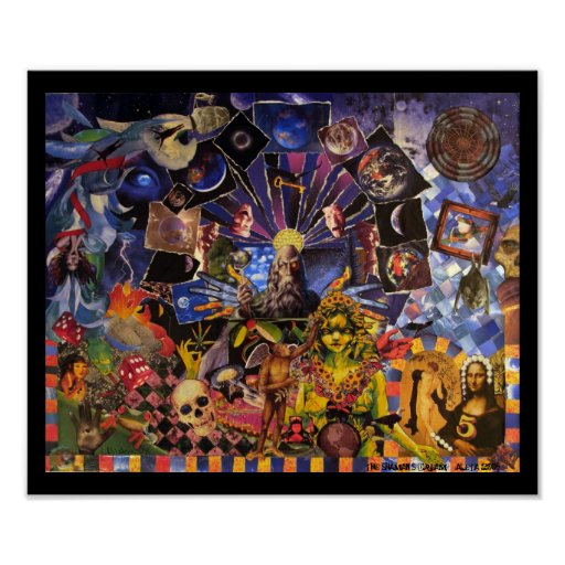 The Shaman's Dream Print