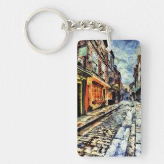 The Shambles York Vincent Van Gogh Keychain