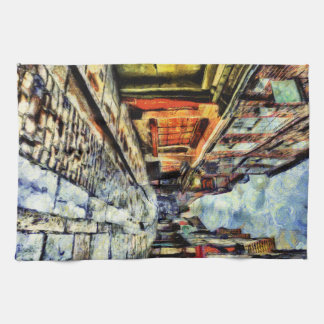 The Shambles York Vincent Van Gogh Kitchen Towel