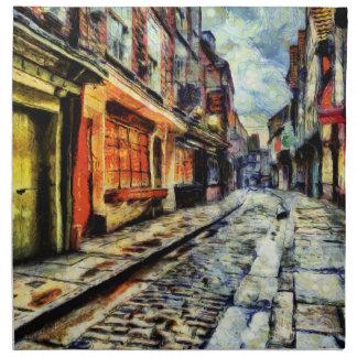 The Shambles York Vincent Van Gogh Napkin