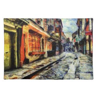 The Shambles York Vincent Van Gogh Placemat