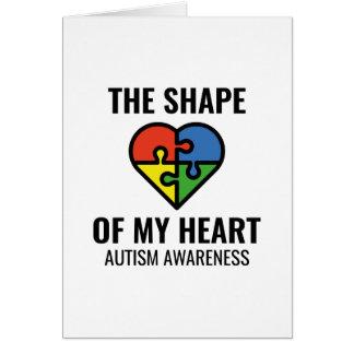 The Shape Of My Heart Card