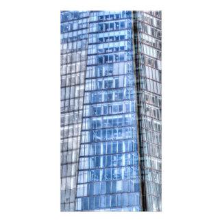 The Shard Abstract Custom Photo Card