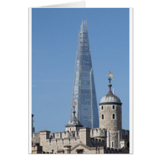 The Shard and Tower of London Card