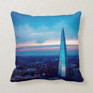 The Shard at Dusk Throw Pillow