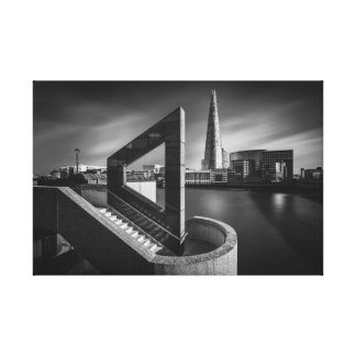 The Shard in Geometry Canvas Print