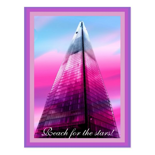 The Shard in London Postcard