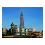 The Shard of Glass in London Poster
